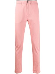 Department 5 Mike Slim Fit Chinos Pink