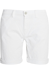 Mih Jeans The London Boy Slouch Dobby Denim Shorts