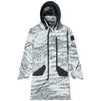 Stone Island Shadow Project Dpm Marl Detachable Hooded Long Parka Grey