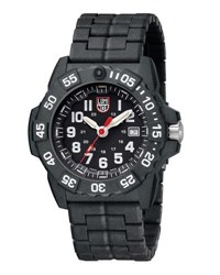 Luminox 3500 Series Ultra Light Watch Black White
