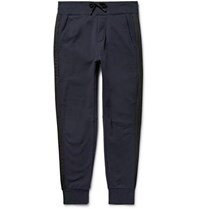 Public School Arbaa Tapered Loopback Cotton Jersey Sweatpants Navy