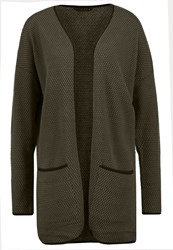 Only Onldiamond Cardigan Tarmac Dark Brown