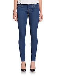 Cult Of Individuality Teaser Stone Washed Skinny Jeans Bright Blue