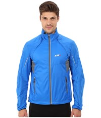 Louis Garneau Cabriolet Cycling Jacket Curacao Blue Men's Workout