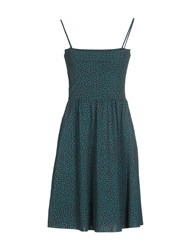 Siyu Dresses Short Dresses Women Dark Green