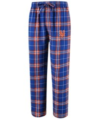 Concepts Sport Men's New York Mets Huddle Sleep Pants Royalblue