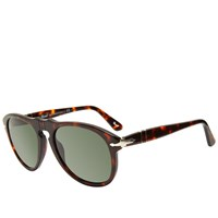 Persol 679 Aviator Sunglasses Brown