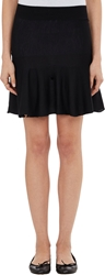 Barneys New York Ruffle Skirt Black