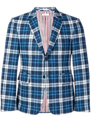 Thom Browne Tartan Donegal Sport Coat 60