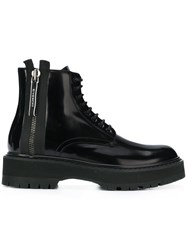 Givenchy Ridged Sole Boots Black