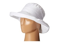 San Diego Hat Company Cth4077 Linen Fabric W Kettle Brim White Caps