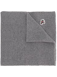 Paul Smith Ps Embroidered Patch Scarf 60