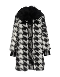 Manoush Coats And Jackets Faux Furs Black