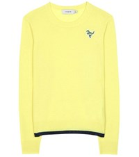 Coach Cashmere Sweater Yellow