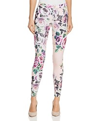 Hue Rose Twill Leggings Light Pink