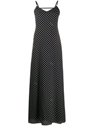 Boutique Moschino Polka Dot Long Dress 60