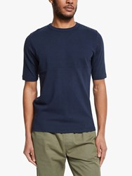 Les Basics Le Football Colour Block T Shirt Navy