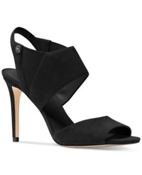 Michael Kors Marti Slingback Dress Sandals Women's Shoes Black