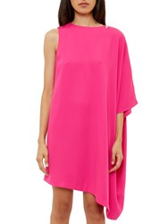 Ted Baker Aubreey Draped Side Tunic Dress Fuschia
