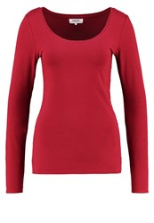 Zalando Essentials Long Sleeved Top Red