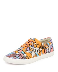 Bucketfeet Catapult Canvas Lace Up Sneaker Pink Purple