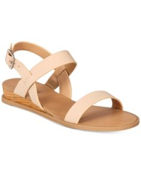 Call It Spring Richichi Flat Sandals Women's Shoes Nude