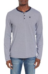Hurley Men's Lookout Stripe Dri Fit Henley