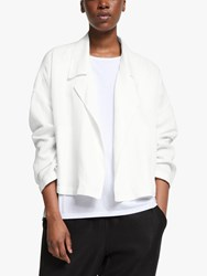 Eileen Fisher Drop Front Jacket White