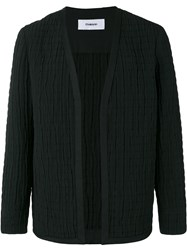 Chalayan Collarless Jacket Black