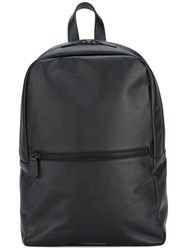 Common Projects Zip Backpack Men Calf Leather One Size Black