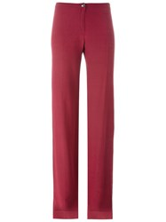 Romeo Gigli Vintage Palazzo Pants Red