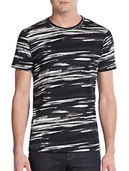 Alternative Apparel Printed Cotton Jersey Tee Black