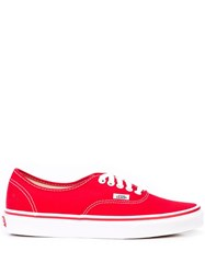 Vans Authentic Trainers Red