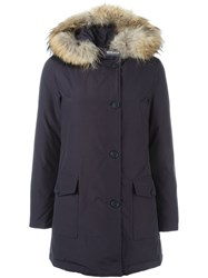 Woolrich 'Arctic' Padded Coat Blue