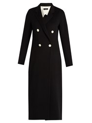 Joseph Bailey Wool And Cashmere Blend Coat Black