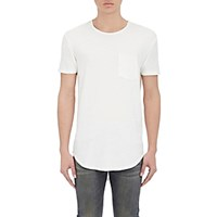 R 13 R13 Men's Pocket T Shirt White