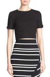 Women's Ted Baker London 'Gayl' Bow Detail Crop Top