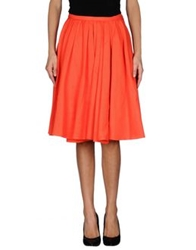 Tara Jarmon Knee Length Skirts Bright Blue