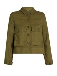 The Great Swingy Canvas Jacket Khaki