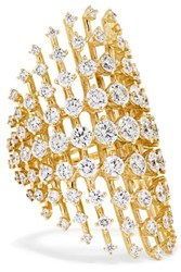 Fernando Jorge Disco 18 Karat Gold Diamond Ring