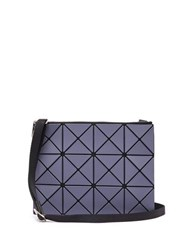 Bao Bao Issey Miyake Lucent Pvc Cross Body Bag Dark Grey