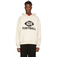 424 Off White 'Football' Hoodie
