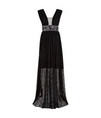 Pinko Mascara Dress Black