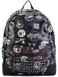 Philipp Plein 'Aranciopoli' Backpack Black