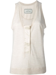 By Malene Birger Loose Fit Tank Top