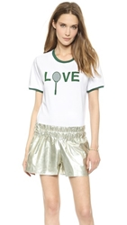Ostwald Helgason Love T Shirt White Green