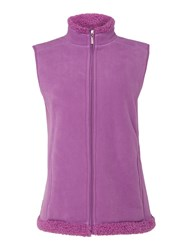 Tigi Fleece Gilet Pink
