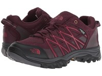 The North Face Storm Iii Waterproof Fig Rumba Red Shoes Purple