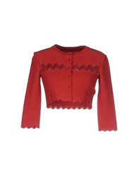Alaia Alaia Knitwear Wrap Cardigans Women Red