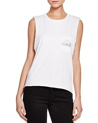 Project Social T Desert Fever Muscle Tank Off White